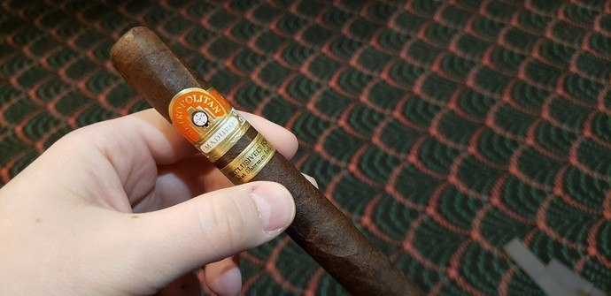 cigar review Nat Sherman Metropolitan Maduro