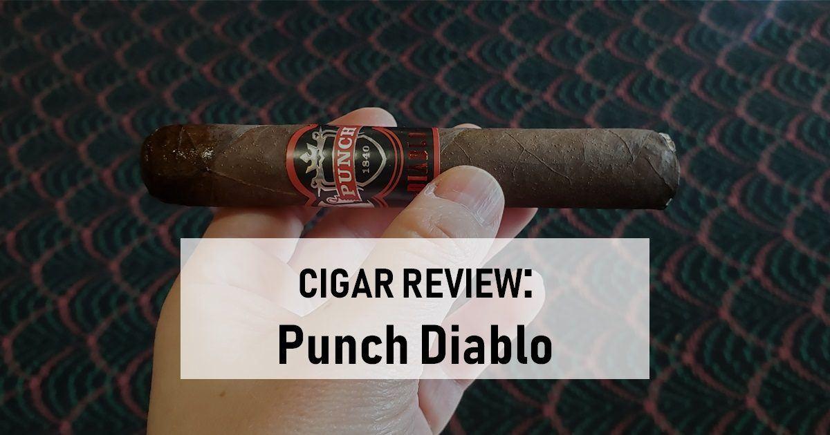 cigar review punch diablo