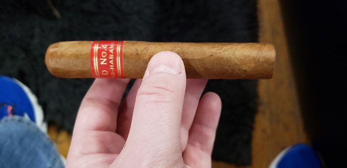 Cigar Review Cuban Partagas Serie D No. 4
