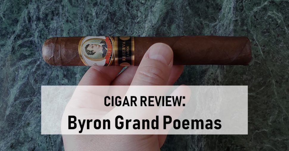 Cigar Review Byron Grand Poemas Serie Siglo XIX