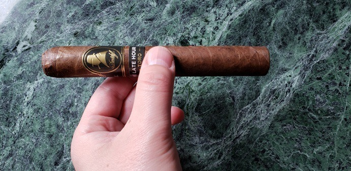 Cigar Review Davidoff Winston Churchill The Late Hour Toro
