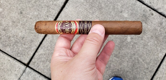 cigar review - southern draw firethorn toro