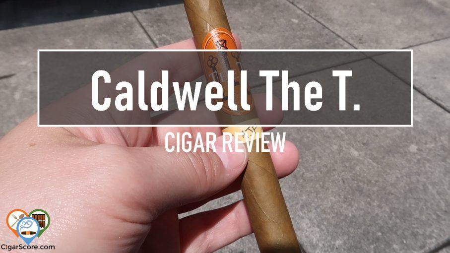cigar review - caldwell the t connecticut