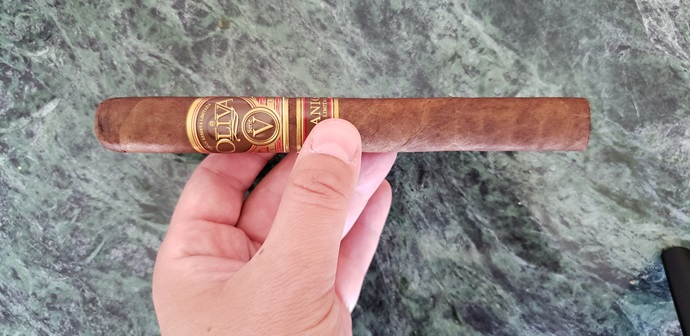 Cigar Review Oliva Serie V Melanio Churchill