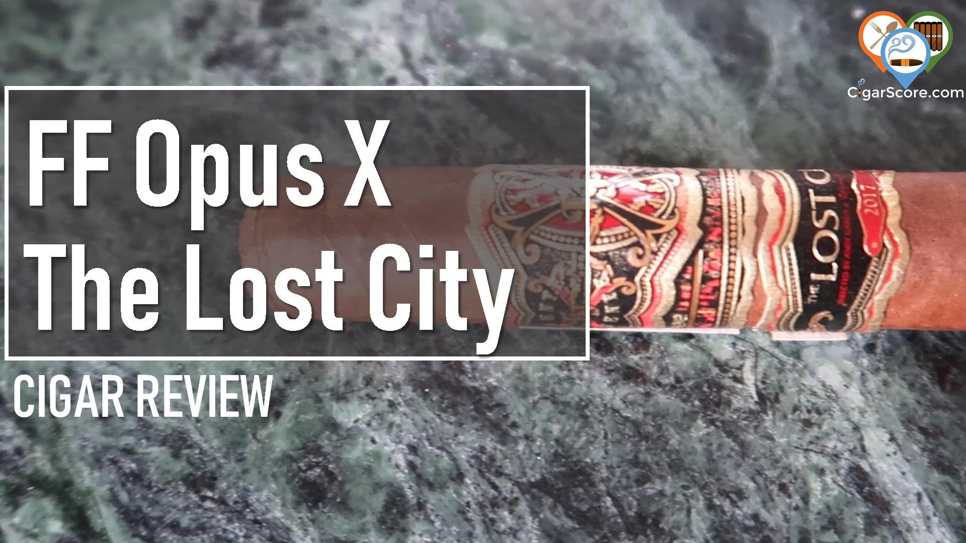 thumbnail Fuente Fuente Opus X The Lost City 2017 Robusto yt