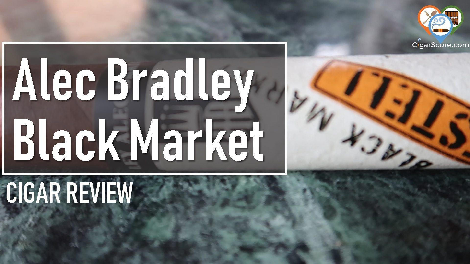 cigar review alec bradley black market esteli toro