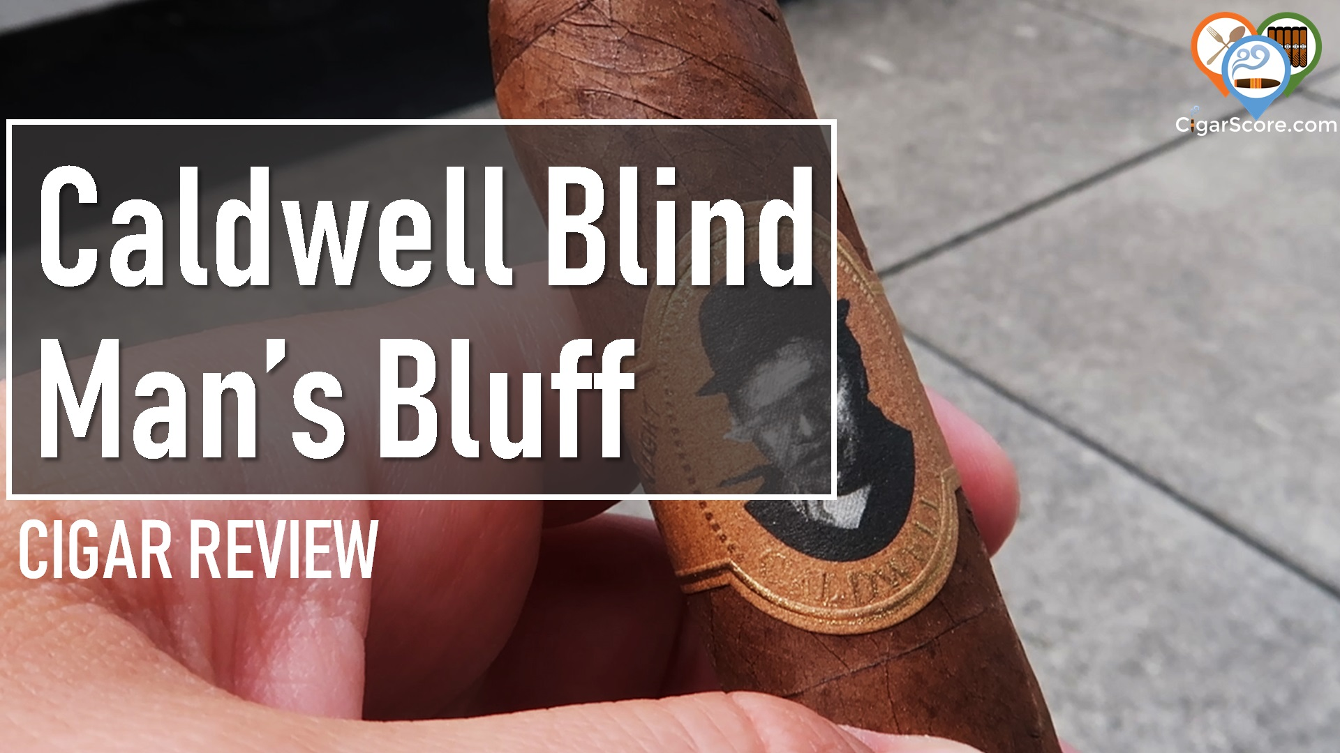 cigar reviews caldwell blind man's bluff habano