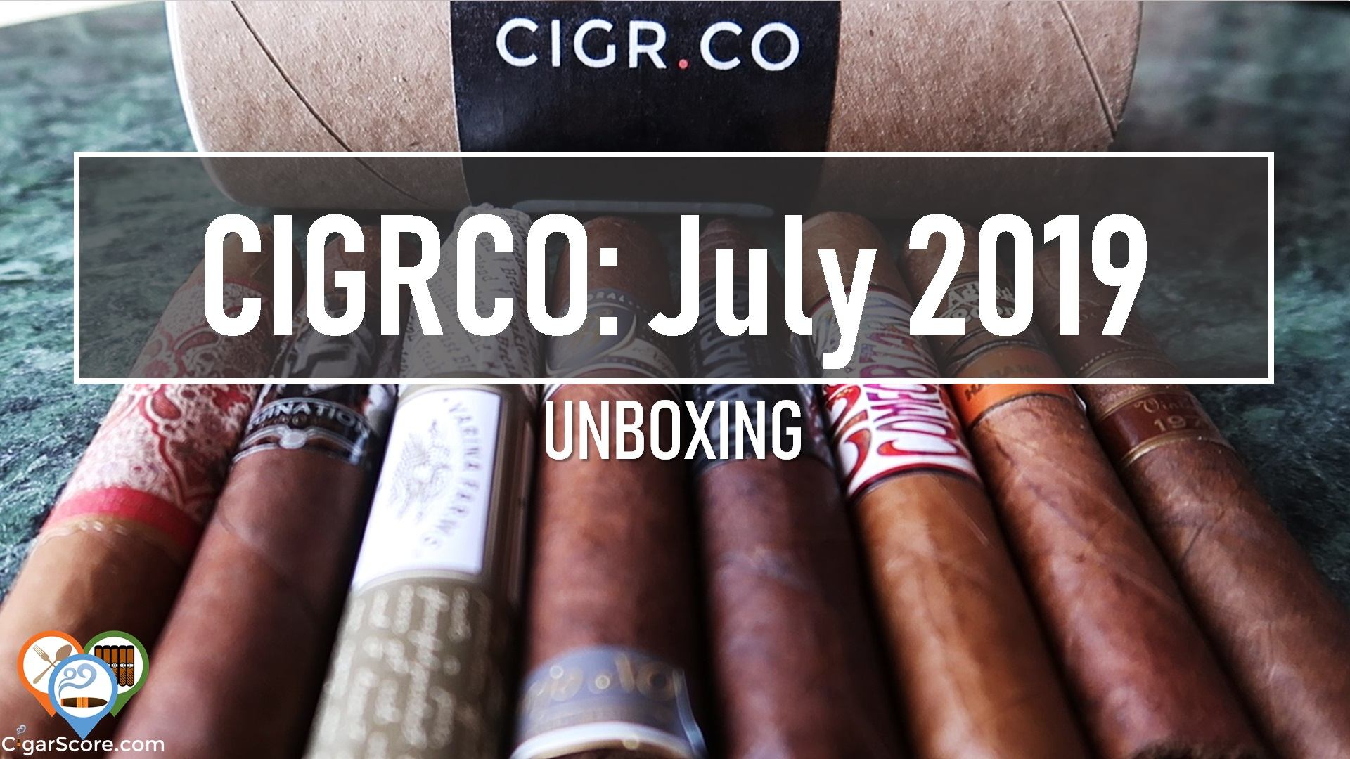 cigar subscription unboxing cigrco july 2019