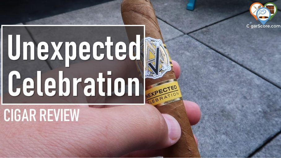 cigar review - avo unexpected celebration
