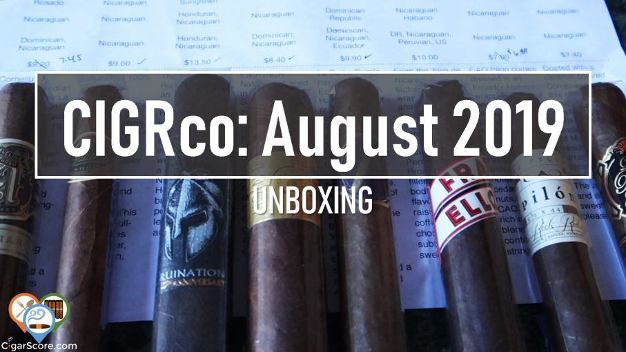 thumbnail - unboxing cigrco august 2019