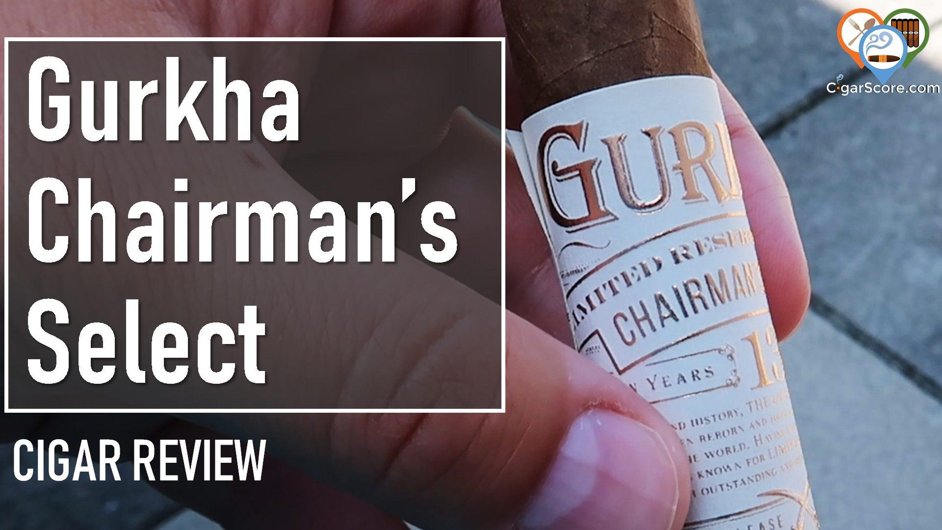 cigar review Gurkha Chairman's Select Grand Robusto Perfecto