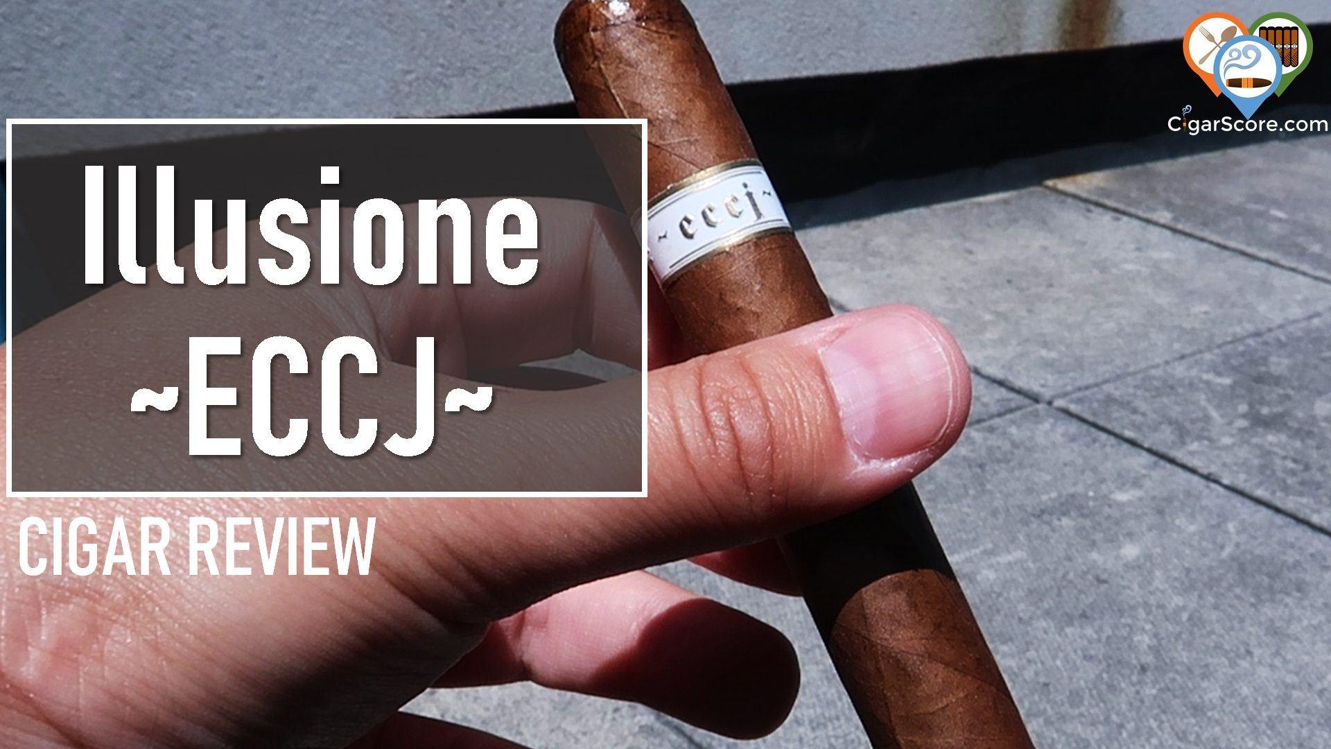 cigar review illusione eccj corona gorda
