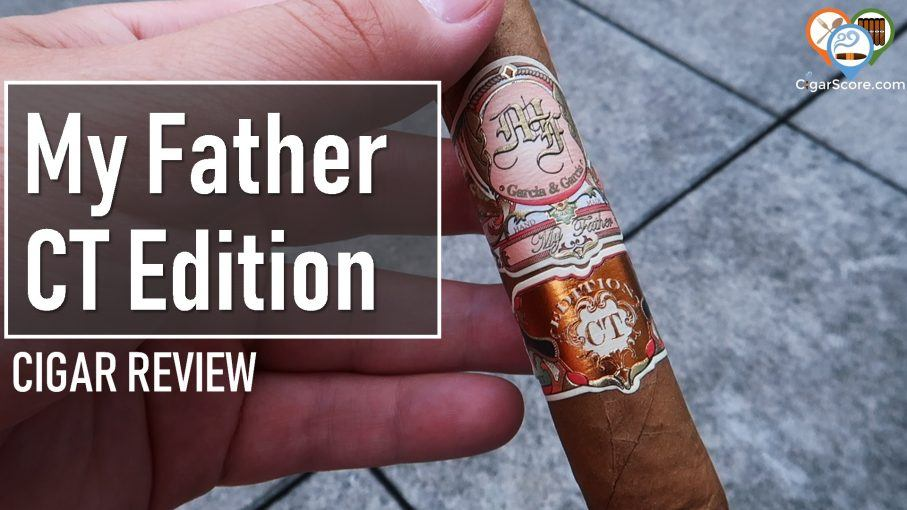 cigar review my father connecticut edition