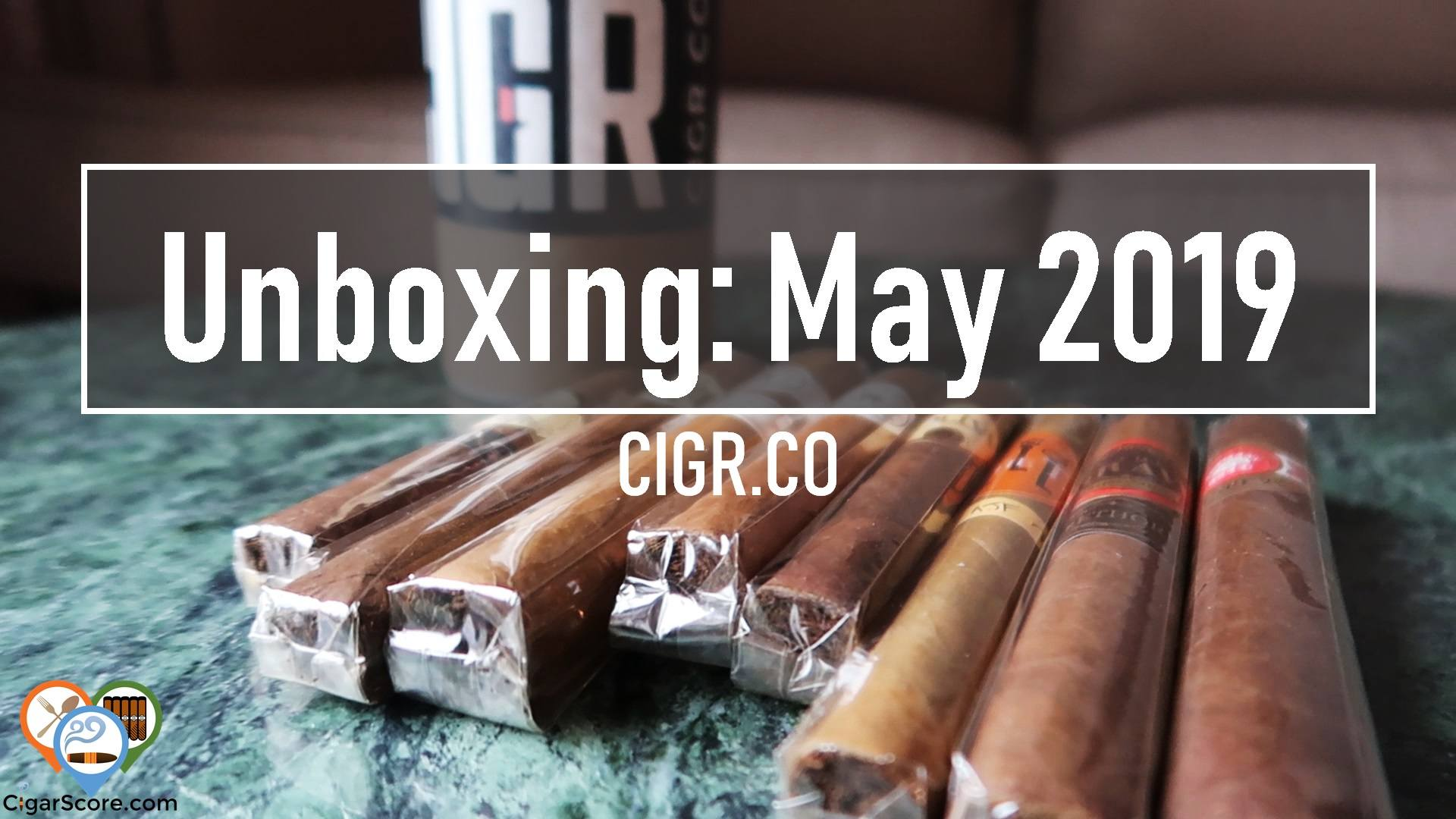 unboxing cigrco may 2019