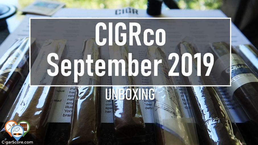 unboxing cigrco september 2019