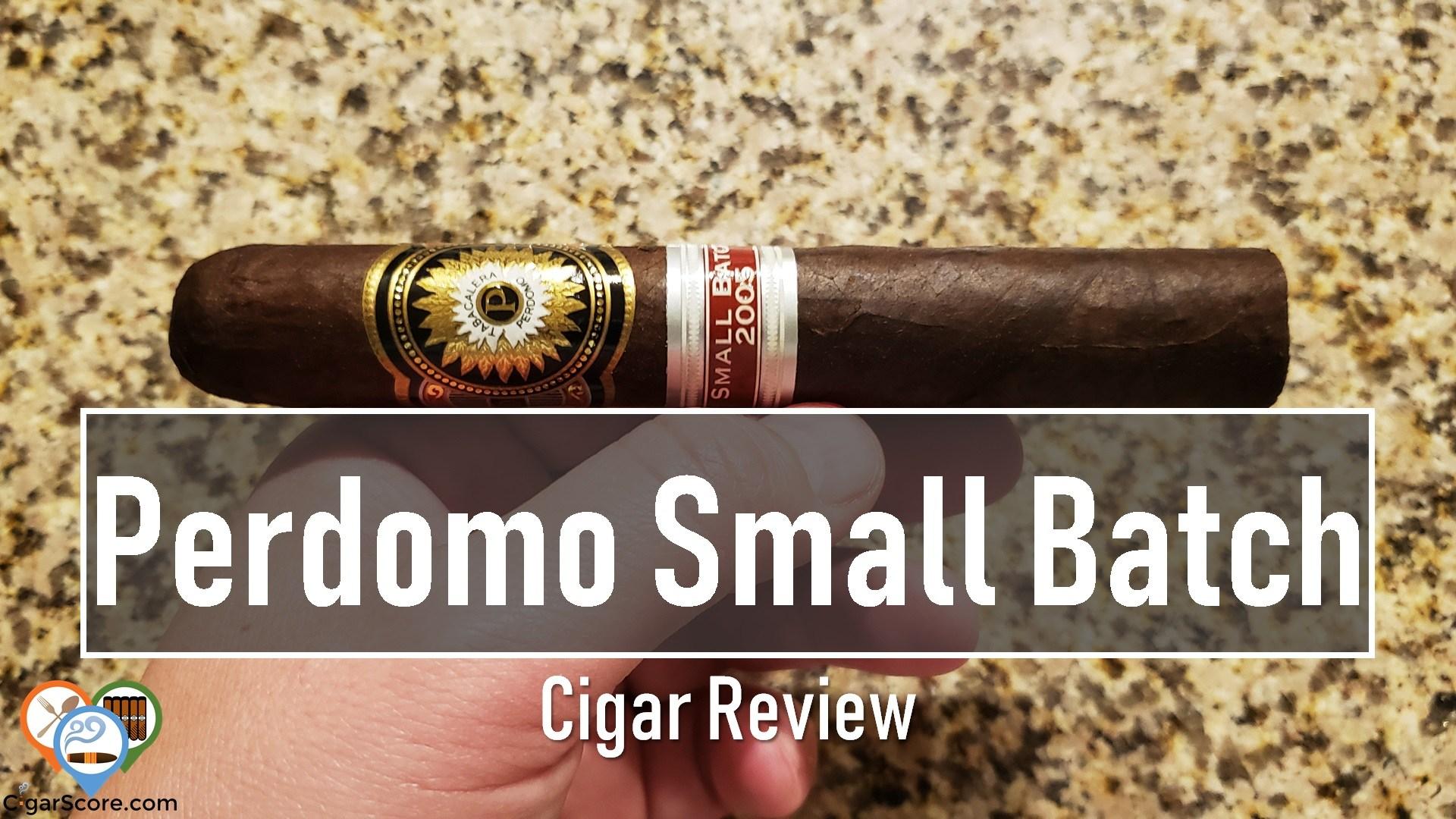 Cigar Review Perdomo Small Batch Maduro Toro Especial 2005