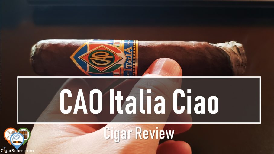 cigar review cao italia ciao natural robusto