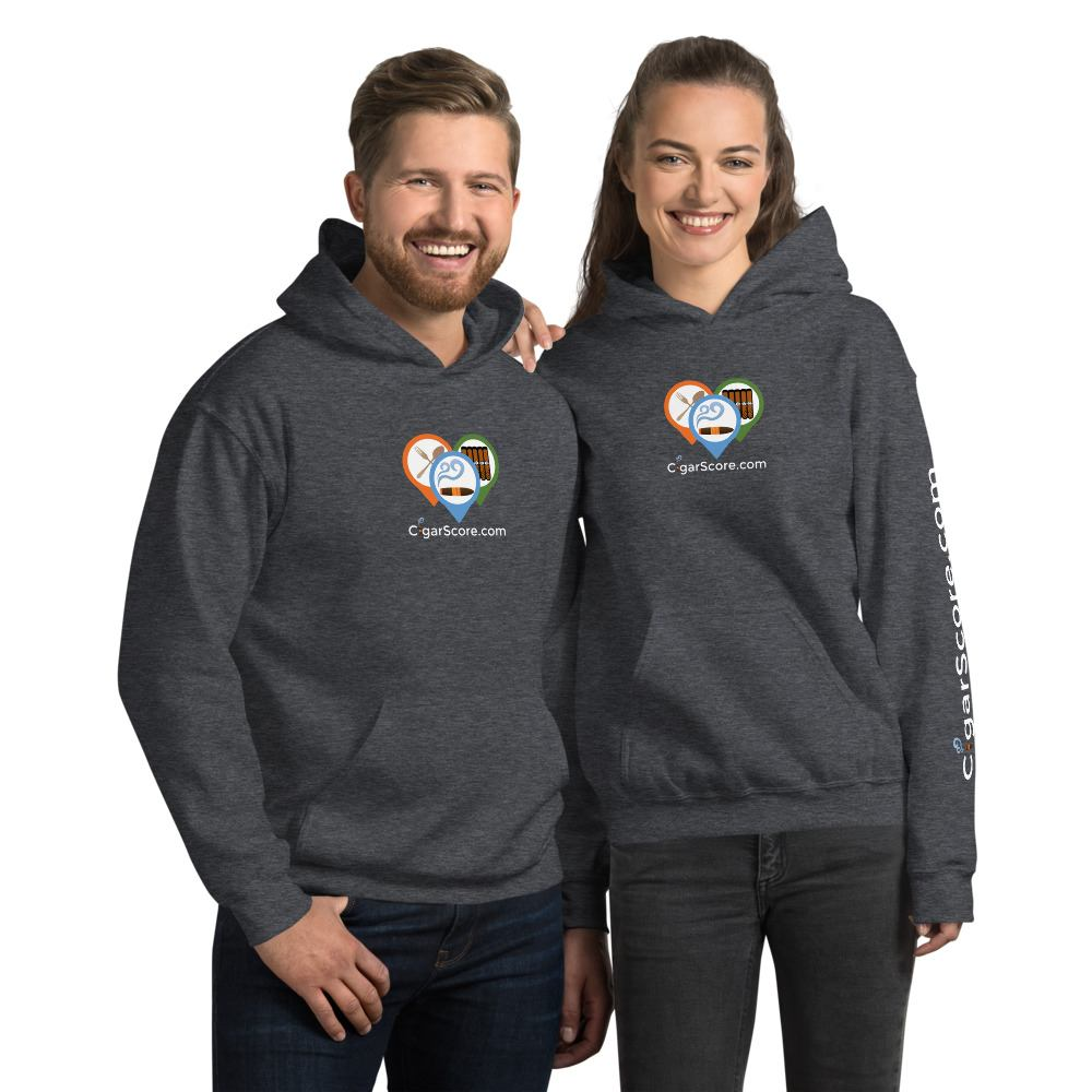 buy now! cigarscore hoodie gray couple