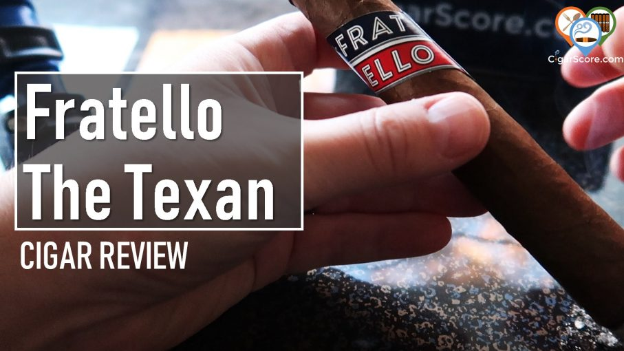 cigar review fratello the texan