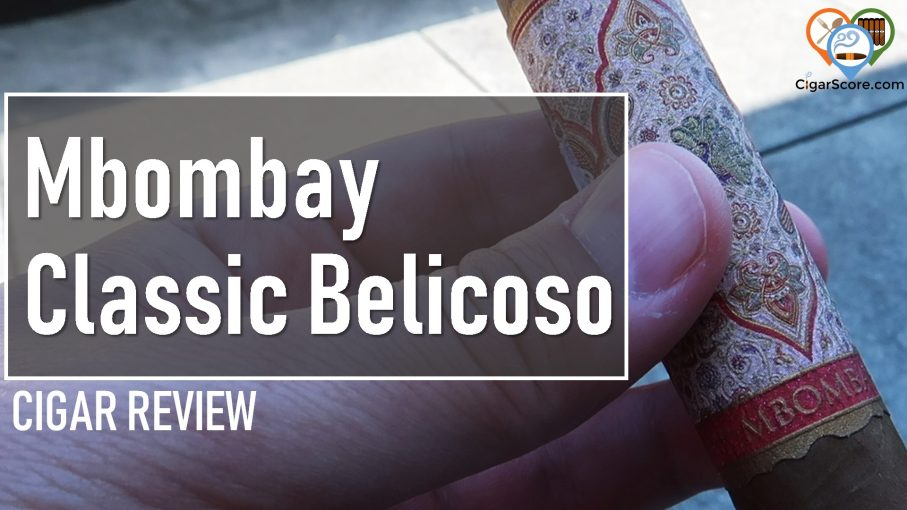 cigar review mbombay classic belicoso