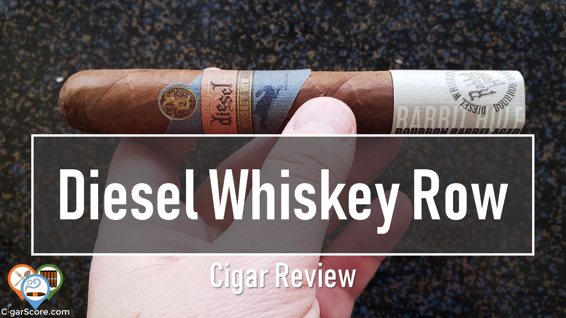 Cigar Review Diesel Whiskey Row Robusto