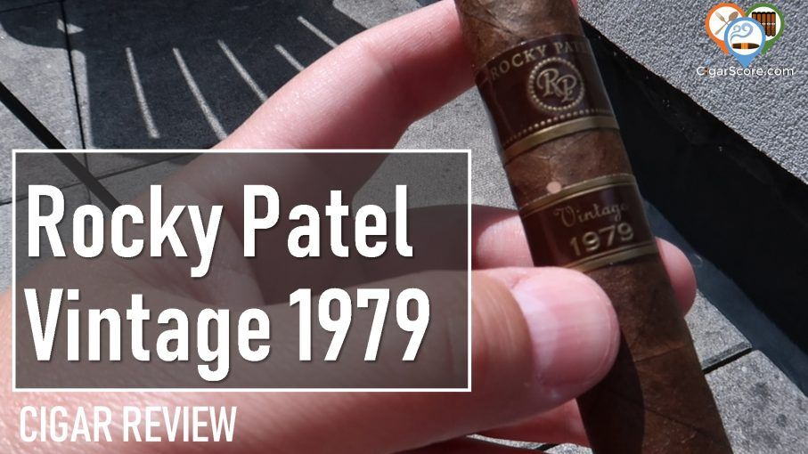 Cigar Review Rocky Patel Vintage 1979 Robusto