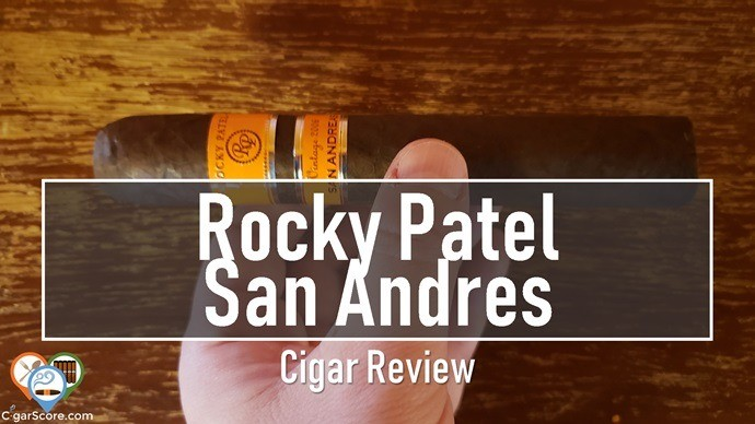 Cigar Review Rocky Patel Vintage 2006 San Andreas Sixty