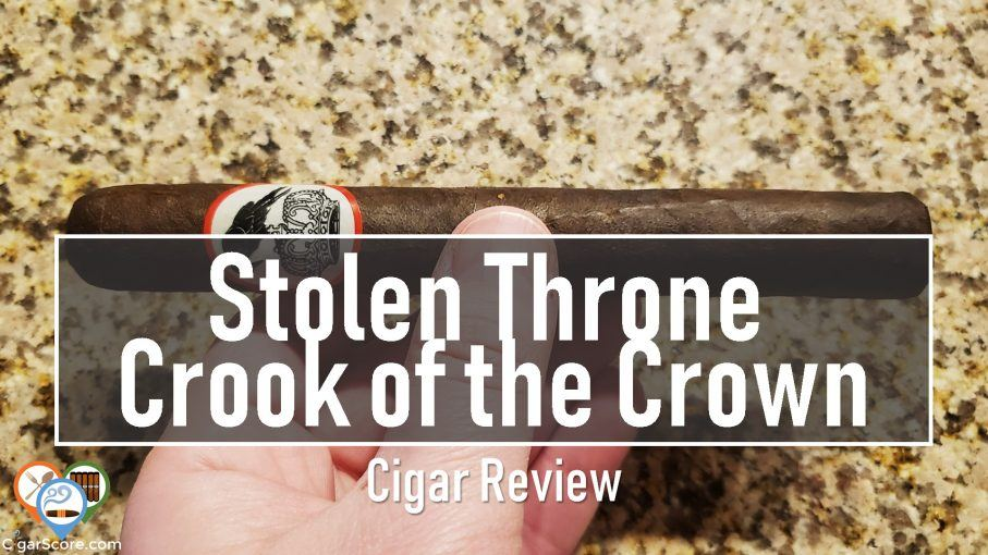 Cigar Review Stolen Throne Crook of the Crown Toro fb