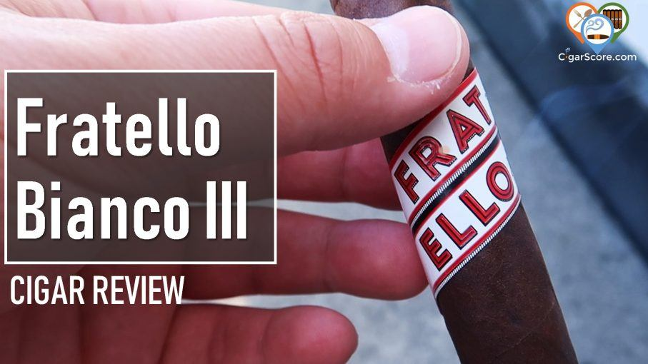 cigar review fratello bianco iii robusto
