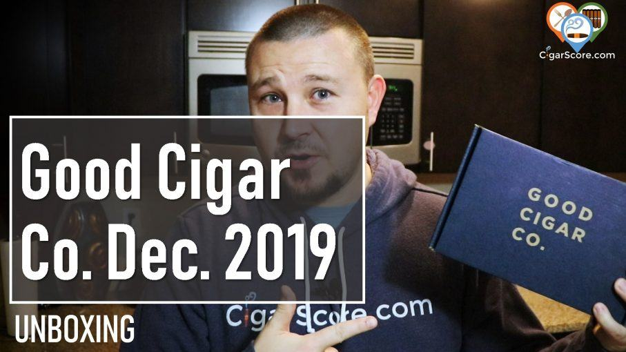 unboxing good cigar co december 2019
