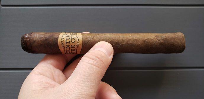 Cigar Review Kentucky Fire Cured Just a Friend Toro
