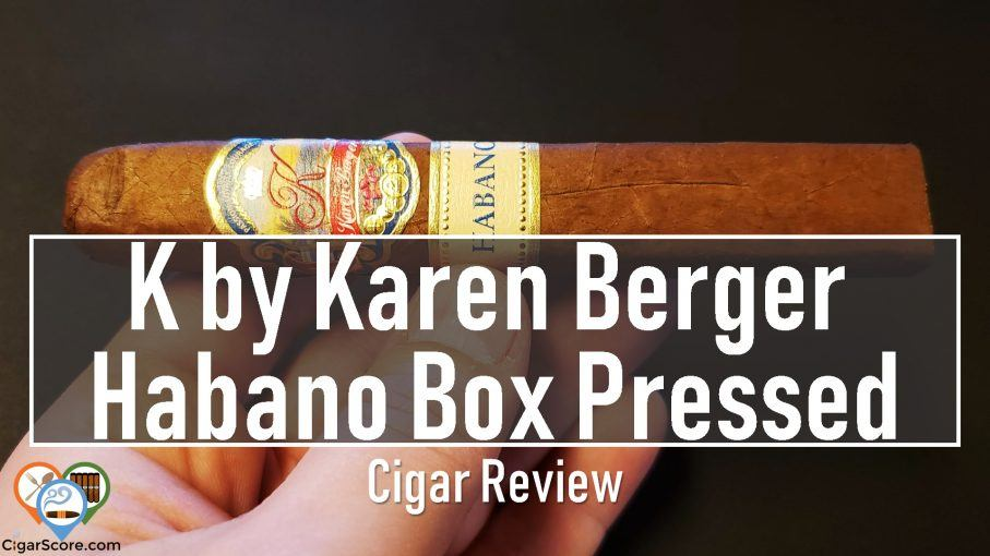 The K by Karen Berger Habano Box Pressed Robusto