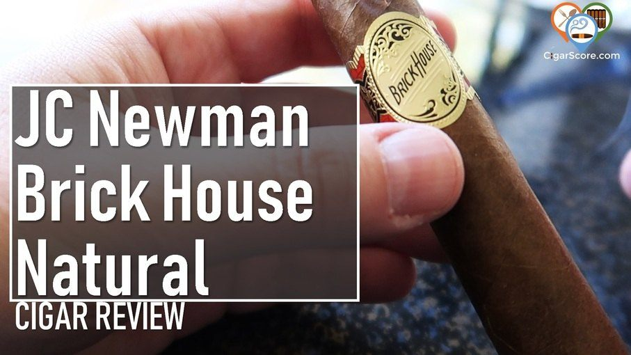 Cigar Review JC Newman Brick House Natural Robusto fb