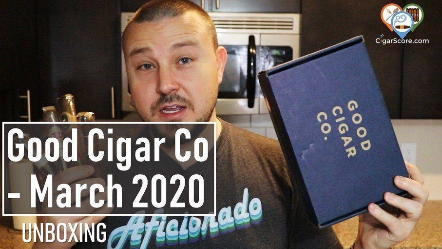 Unboxing - Good Cigar Co 2020 March