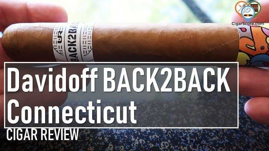 cigar review BACK2BACK Connecticut Toro Gordo