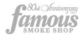 famous smoke shop logo partner