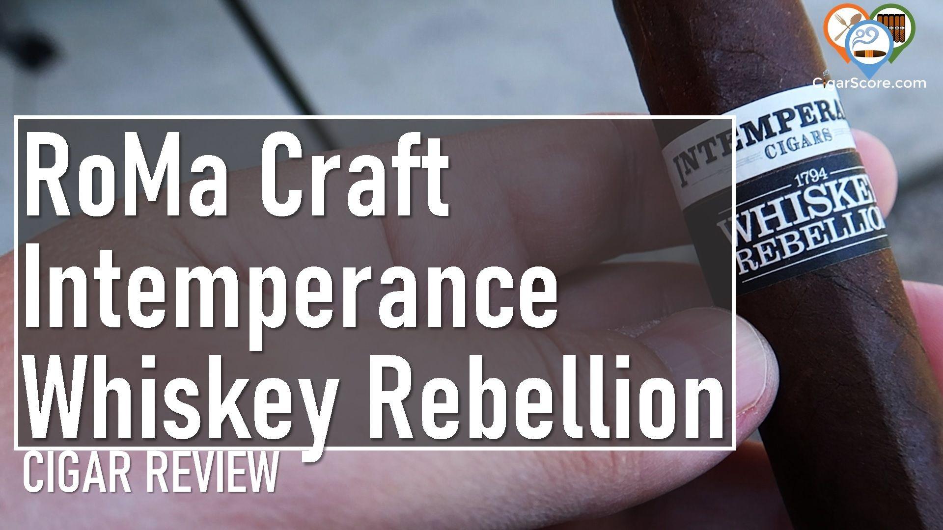 Review - RoMa Craft Intemperance Whiskey Rebellion 1794 Bradford