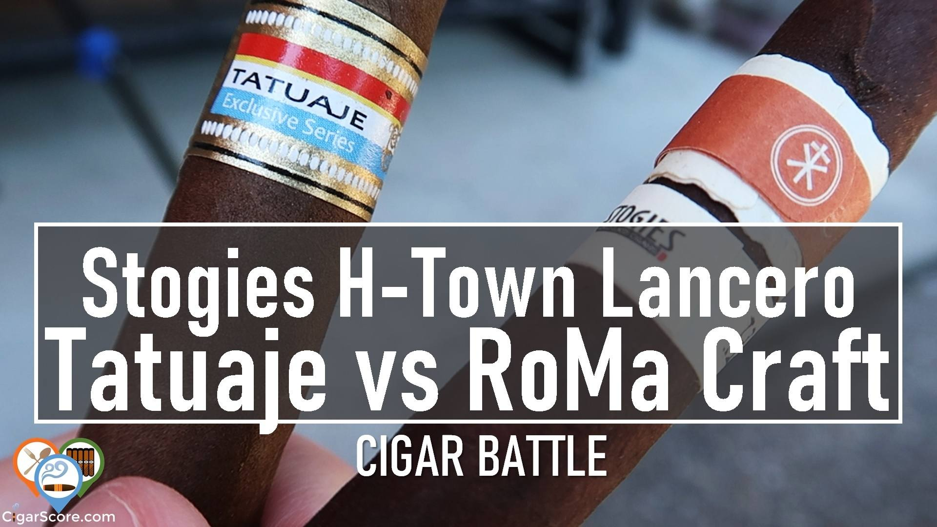 Cigar Battle - Stogies H-Town Lanceros Tatuaje vs RoMa Craft