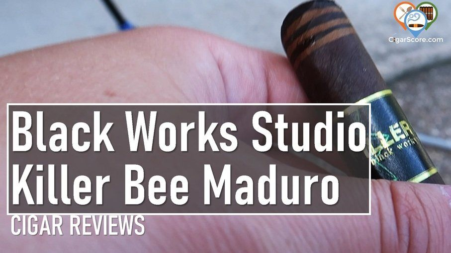 cigar review Black Works Studio Killer Bee Maduro