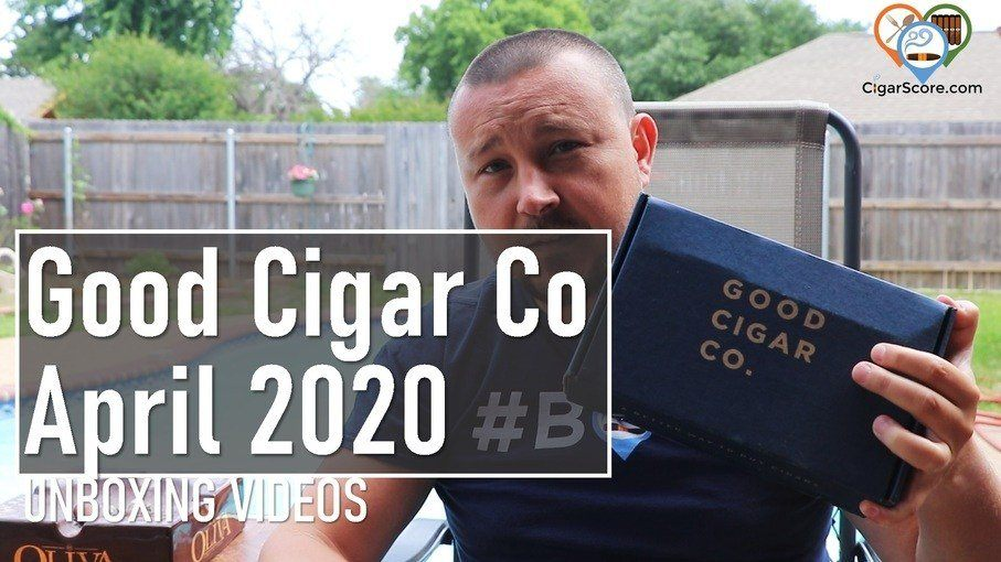 unboxing good cigar co april 2020