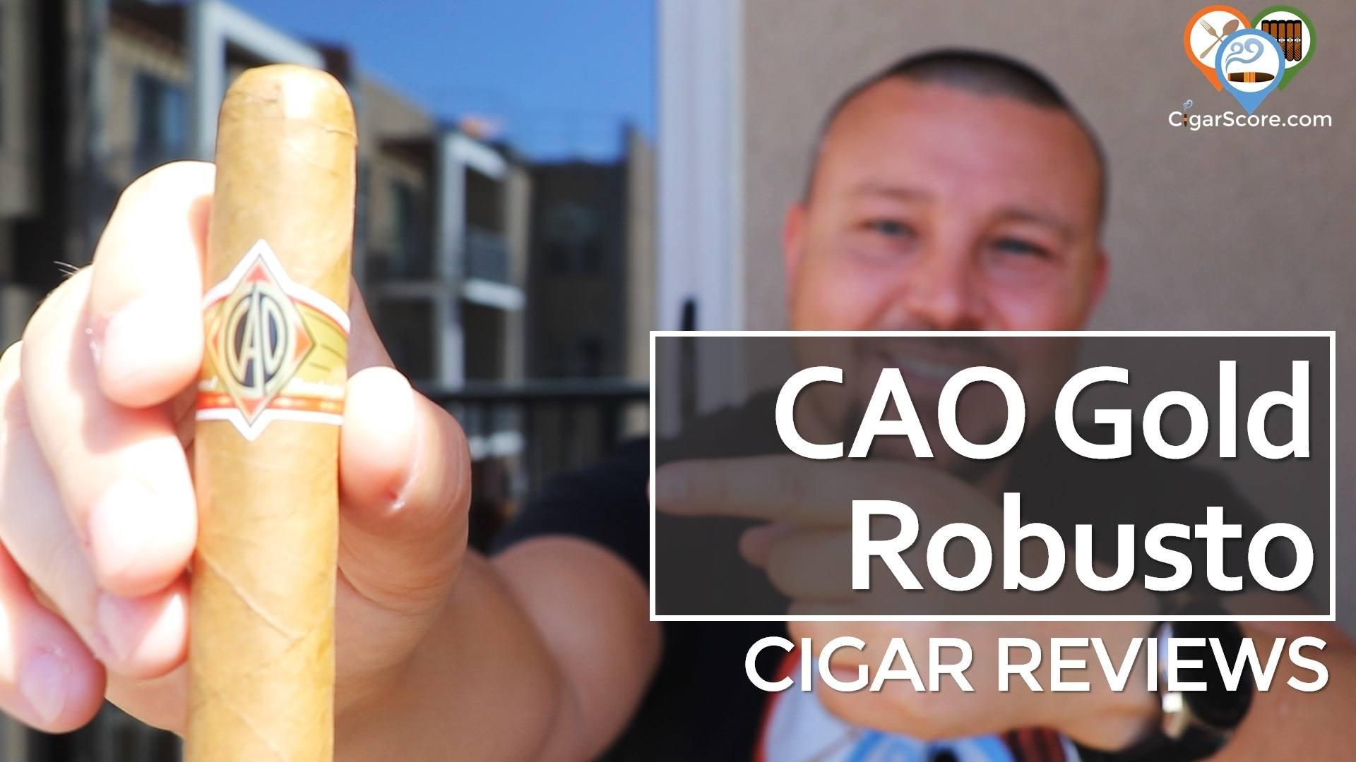 Cigar Review CAO Gold Robusto thumbnail