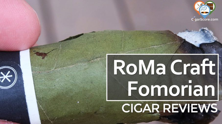 Cigar Review RoMa Craft CroMagnon Fomorian