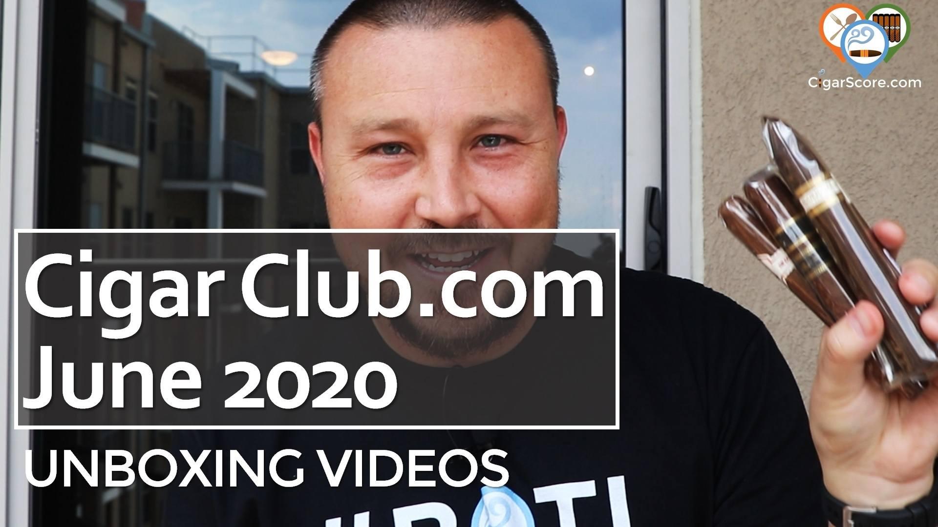Unboxing - Cigar Club 2020 June