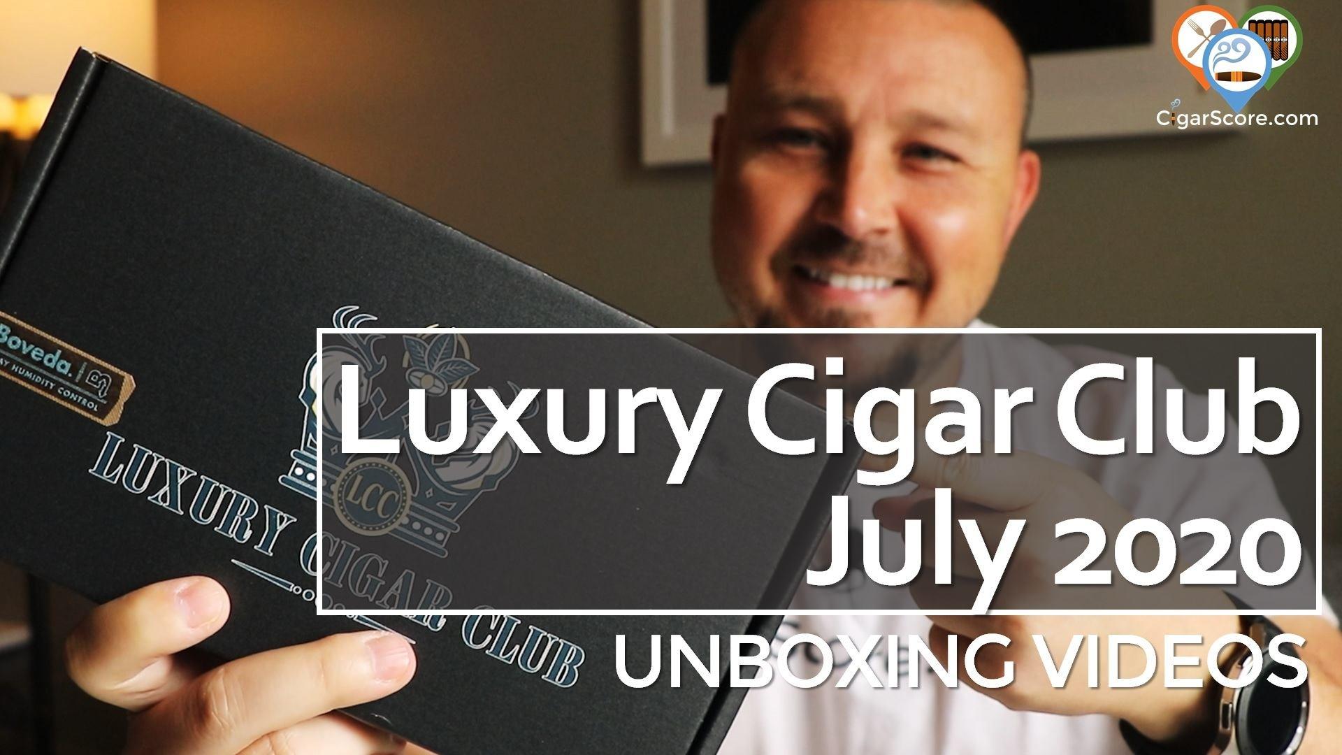 Unboxing - Luxury Cigar Club 2020 July
