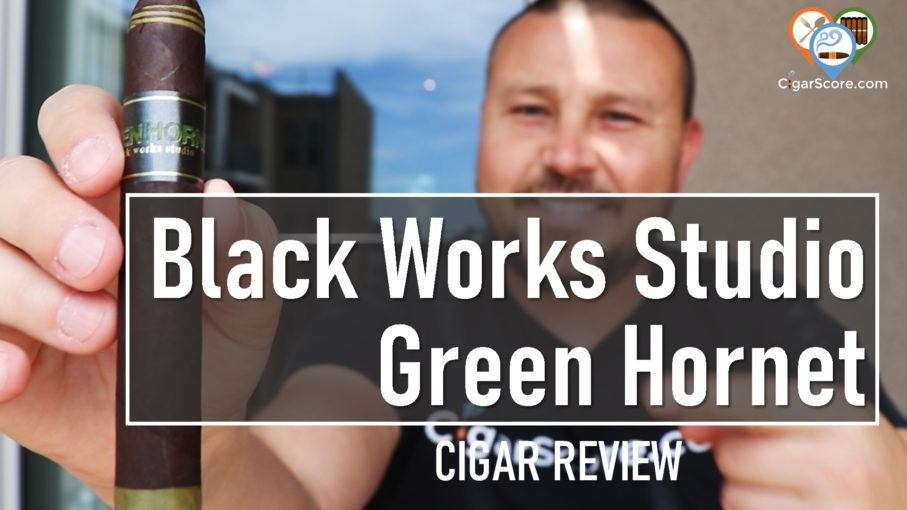 cigar Review Black Works Studio Green Hornet Robusto