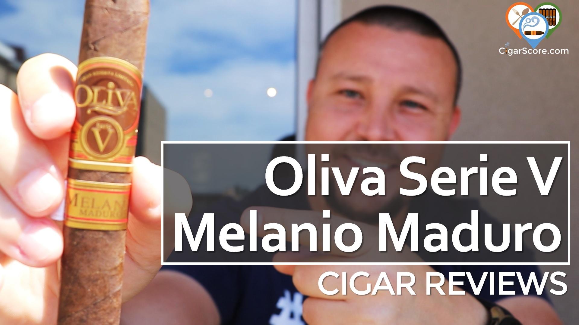 cigar Review - Oliva Serie V Melanio Maduro Robusto