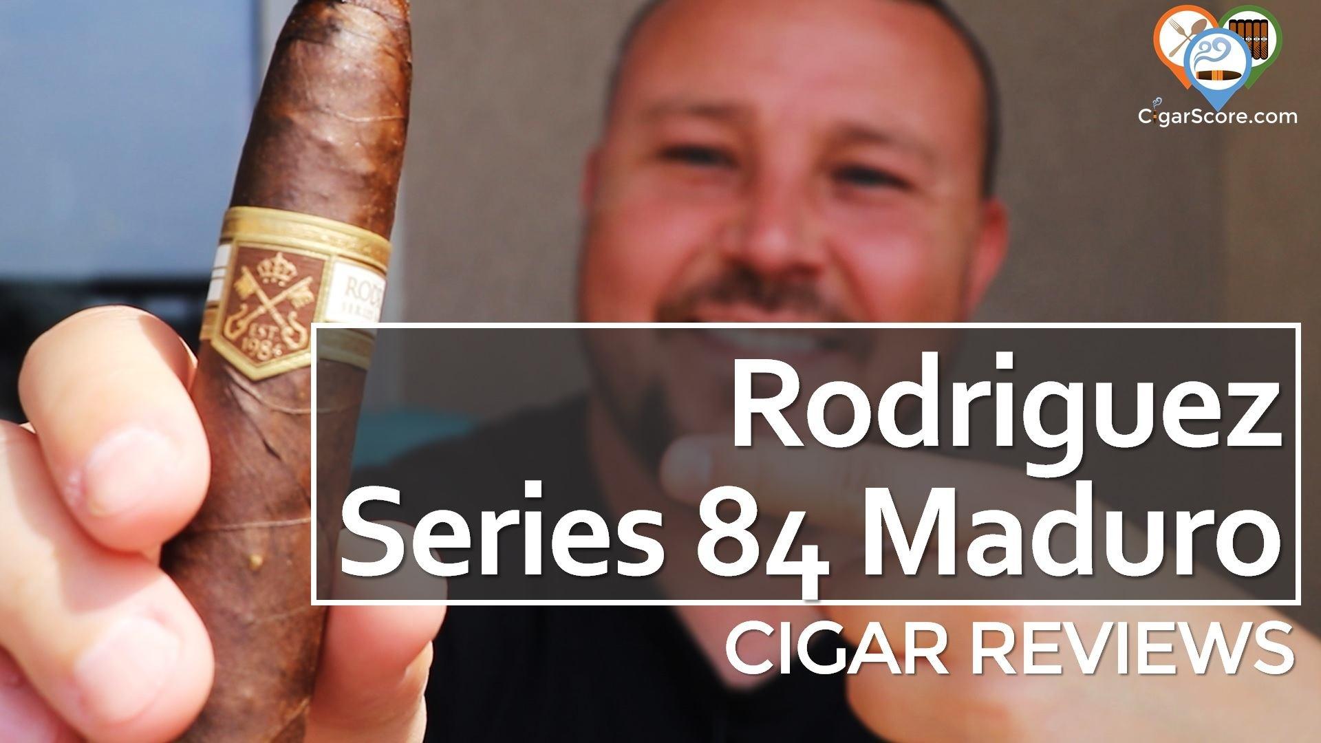 Review - Rodriguez Series 84 Maduro Torpedo