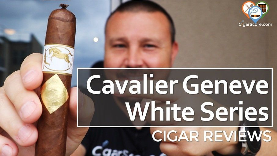 Cigar Review Cavalier Geneve White Series Diplomate Robusto