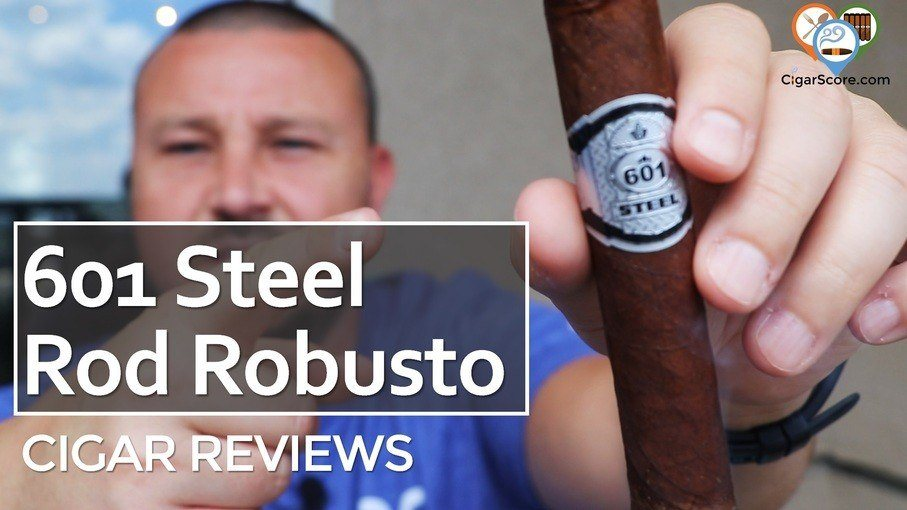 Cigar Review 601 Steel Rod Robusto