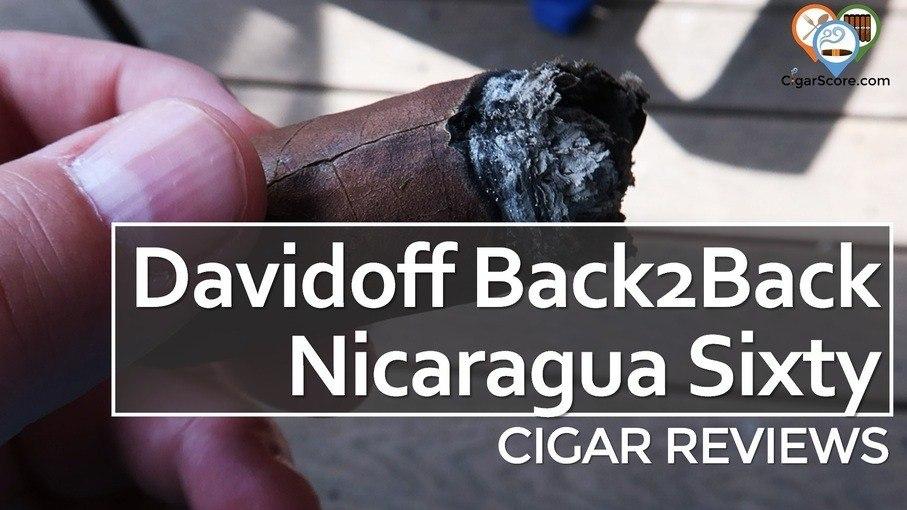 Cigar Review Davidoff Back2Back Nicaragua Sixty